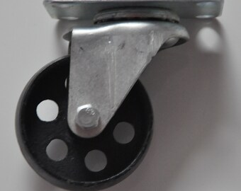 Roulette cast iron vintage, industrial, industrial, cast iron