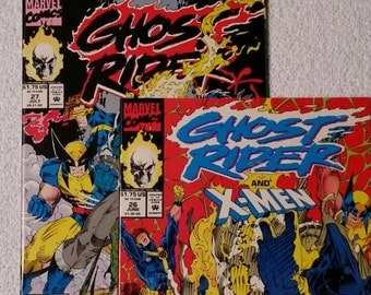 Ghost Rider & X-Men, #26 and #27 (1992)