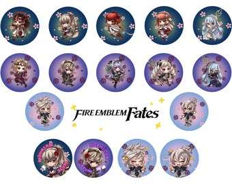 Fire Emblem Fates Badges
