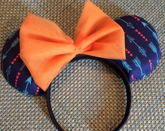 Pocahontas Inspired Mouse Ears
