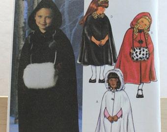 Butterick 4013 Kids Cloak Pattern with Muff