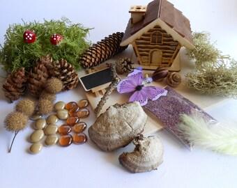 Fairy House Kit , Fairy Garden Kit, Fairy Garden Supplies, Fairy Kits, DIY