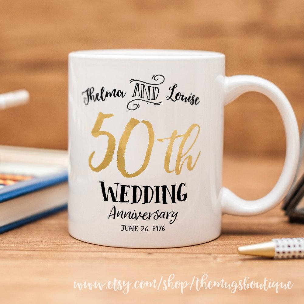 50th wedding anniversary mug customized wedding mug for What is 50th wedding anniversary