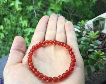 Therapeautic Carnelian Bracelet