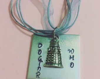 Doctor Who Dalek- Necklace