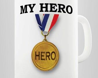 My Hero Ceramic Mug