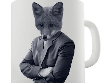 Mr Fox Ceramic Tea Mug