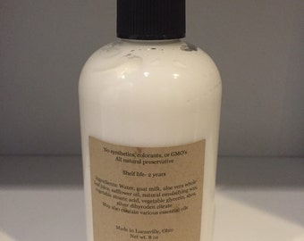 All Natural Goats Milk Lotion