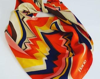 Vintage italian scarf by Fiorio