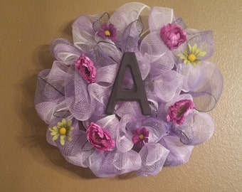 Beautiful Purple Wreath