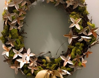 Spring Has Sprung Door Wreath