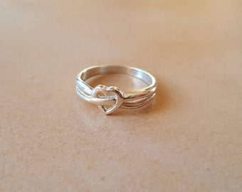 Silver Heart Ring -925