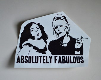 Absolutely Fabulous Sticker