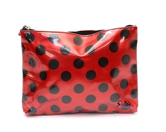 Ladybug Cosmetic Bag Case Makeup Travel Toiletries