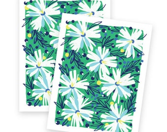Fresh Floral Notecards • set of 8