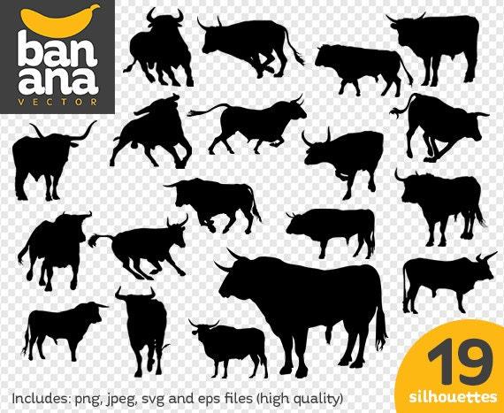 sale bulls png jpg svg eps files high resolution bv