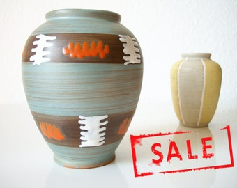 SALE! CARSTENS • colorful vase • 526-13 • blue red white