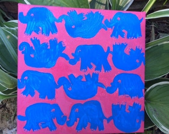 elephant Lilly Pulitzer print