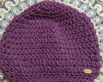 Slouchy Purple Berry