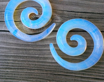 Opalite Glass Spiral