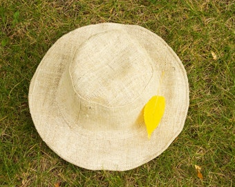 Hat Sun Hemp Pure Organic Natural Lightweight Brim Flexible Fashion Stylish