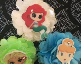 Disney Princess Flower hair clip