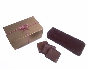 Chocolate & Hazelnut Handmade Fudge 300g Gift Box