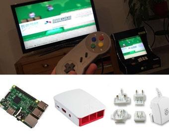 Console Retrogaming - Raspberry pi 3 - SD 32 or 64 GB