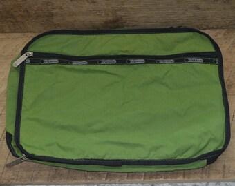 LeSportSac Vintage Bag, Vintage Green Bag, Travel Bag, Storage Bag, Green LeSportSac