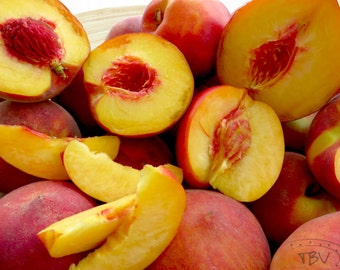 Free Shipping! 5 peach-tree seeds - delicious fruit ! From Portugal