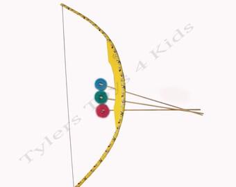 Sponge Bob PVC Bow and Arrow Set, 1 Bow & 3 Arrows