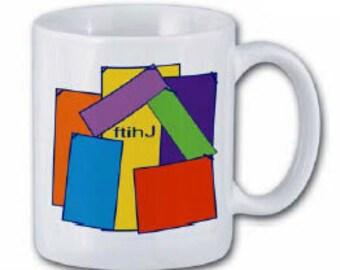 FTIHJ-- For This I Have Jesus designer mug