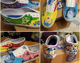 Custom Painted Children's Shoes