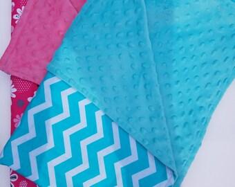 Personalized Child Blanket, Baby Boy Blanket, Baby Girl Blanket, Crib Blanket, Stroller Blanket, Baby Shower Gift, Minky Blanket