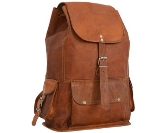 "Gusti leather Bobbie 15 ""backpack leather backpack"