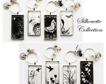 Silhouette Collection Key Chain