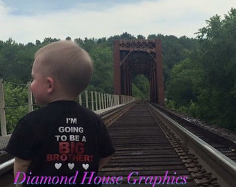I'm going to be a big brother tshirt