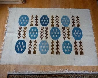 Mid Century Vintage Retro Scandanavian Rug