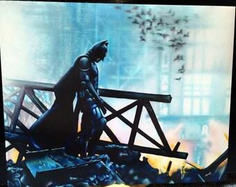 The Dark Knight (Art Print)