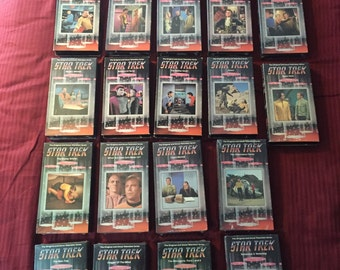 Star Trek  VHS tapes