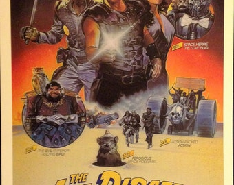 "The Ice Pirates Movie Poster 12""x18"" //"