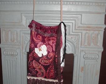 Unique Boho Hippy Vintage Handbag