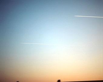 Ring sunset - photograph of Olivier Vanhoeydonck