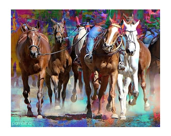 Sets Stampede - Bright - Digital Image