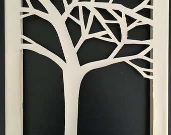 Beige Tree Wall Art