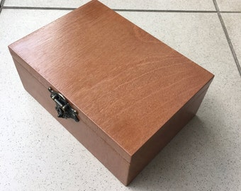 Gift box / Wood box/ Jewelry box / Handmade storage box chest  / Шкатулка ручной работы