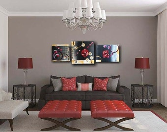 Modern painting abstract painting hand 1 m 15