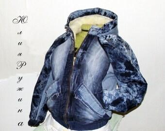 Denim Winter Women's Jacket