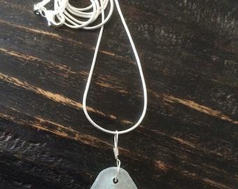 Genuine Handmade Sea Glass Necklace