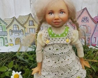 Happy Lucy art doll